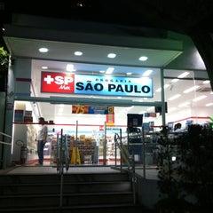 Photo taken at Drogaria São Paulo by Ivan M. on 3/13/2012