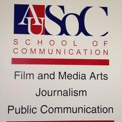 Photo taken at AU – School of Communication (SOC) by Paul B. on 8/9/2012