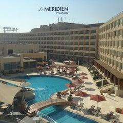 Photo taken at Le Méridien Pyramids Hotel & Spa by Elijah N. on 8/17/2012