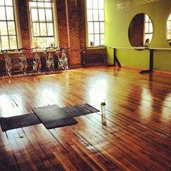 Photo taken at Mode Of Fitness Studio by Jen J. on 4/21/2012