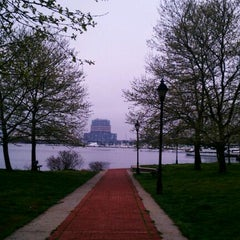 Photo taken at Canton Waterfront Park by Miquel R. on 3/25/2012