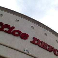 Photo taken at Office Depot by Paratwiter C. on 8/16/2012