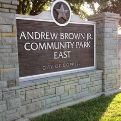 Photo taken at Andy Brown Jr Park East by MB L. on 7/4/2012