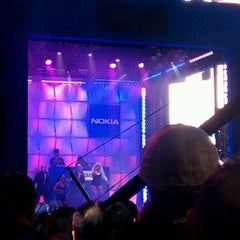 Photo taken at Nokia Lumia 900 Live @ Times Square by Quoc Vuong on 4/6/2012