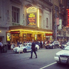 Photo taken at Longacre Theatre by Anthony T. on 8/8/2012