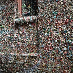Photo taken at Gum Wall by Melissa on 3/24/2012