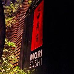 Photo taken at Mori Sushi by Haroldo F. on 6/15/2012