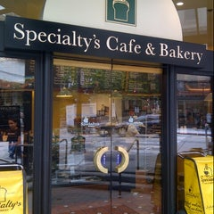 Photo taken at Specialty's Café & Bakery by Maki Y. on 7/23/2012