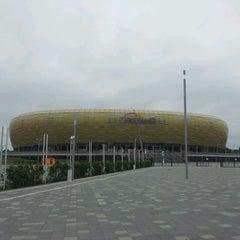 Photo taken at PGE Arena Gdańsk by Mateusz J. on 7/3/2012