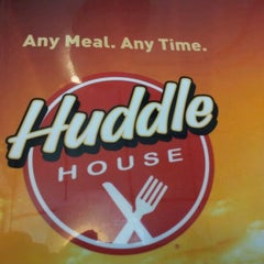 Photo taken at Huddle House by Bailey R. on 3/25/2012