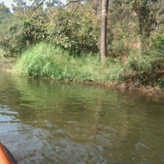 Photo taken at Sanjay Gandhi National Park- Boat Ride by Sakib A. on 2/5/2012