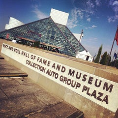 Photo taken at The Rock and Roll Hall of Fame and Museum by Ryan A. on 8/3/2012