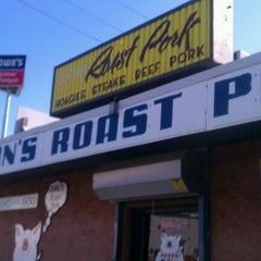 Photo taken at John's Roast Pork by Aatam G. on 2/20/2012