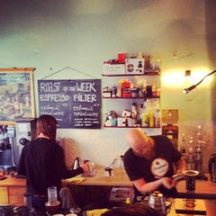 Photo taken at Caffènation by Davy B. on 4/9/2012