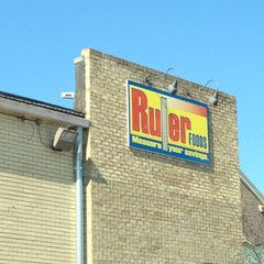 Photo taken at Ruler Foods by Kristin S. on 2/17/2012