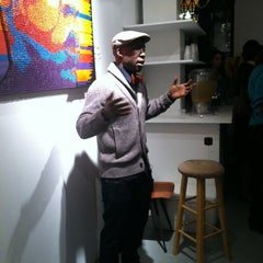 Photo taken at Frontrunner Gallery by Laura T. on 2/24/2012
