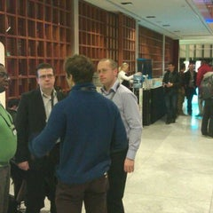 Photo taken at BlackBerry DevCon Europe at the Amsterdam RAI Convention Centre by Andy B. on 2/6/2012