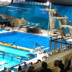 Photo taken at London 2012 Aquatics Centre by Anton N. on 8/7/2012