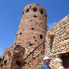 Photo taken at Desert View Watchtower by W. Ross W. on 7/5/2012