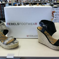 Photo taken at Off Broadway Shoes by Jaime S. on 5/3/2012