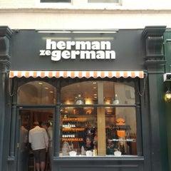 Photo taken at Herman ze German by yves d. on 3/20/2012