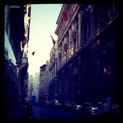 Photo taken at Bankalar Caddesi by bora on 5/5/2012