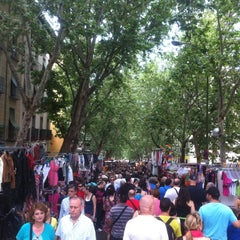 Photo taken at Rastro de Madrid by Andre H. on 6/10/2012