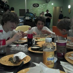 Photo taken at Kibberia Middle Eastern Restaurant & Cafe by Vinnie R. on 8/31/2012