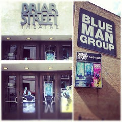 Photo taken at Blue Man Group at the Briar Street Theatre by Justen P. on 5/30/2012