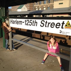 Photo taken at Metro North - Harlem - 125th Street Station by Karen D. on 4/13/2012