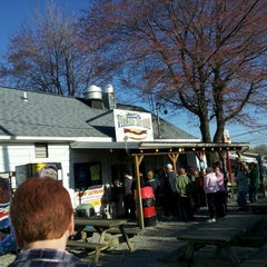 Photo taken at Eddie's Footlong Hotdogs by Abby K. on 4/7/2012