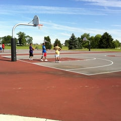 Photo taken at Cousler Park by Ros S. on 6/13/2012