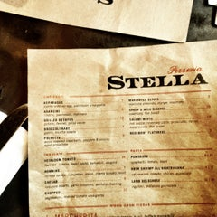 Photo taken at Pizzeria Stella by Damian H. on 6/10/2012