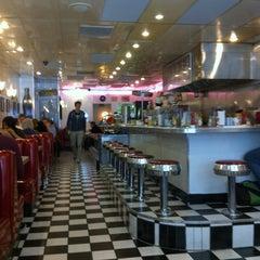 Photo taken at Lori's Diner by Mathieu D. on 4/4/2012