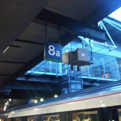 Photo taken at Platform 8 by Giles W. on 2/28/2012