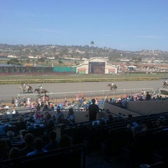 Photo taken at Del Mar Racetrack by Mike H. on 9/3/2012