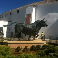 Photo taken at Plaza de Toros de Ronda by Павел К. on 9/3/2012