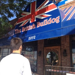 Photo taken at British Bulldog by Lindsey C. on 5/24/2012