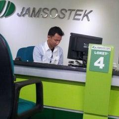 Photo taken at PT. Jamsostek (Persero) by Saikhu R. on 7/20/2012