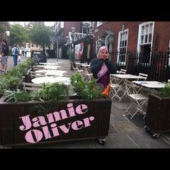 Photo taken at Jamie's Italian by KimchiDa on 9/4/2012