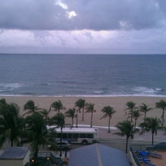 Photo taken at Courtyard by Marriott Fort Lauderdale Beach by B Ian on 2/6/2012