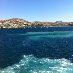 Photo taken at Λιμάνι Πάρου by Yiannis on 8/29/2012
