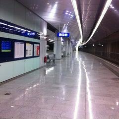 Photo taken at S Flughafen Wien / Vienna Airport by Alexander M. on 5/30/2012