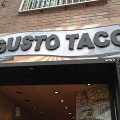 Photo taken at Gusto Taco by YG P. on 3/29/2012