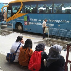 Photo taken at Kuala Lumpur Metropolitan University College (KLMU) by Fadz K. on 9/13/2012