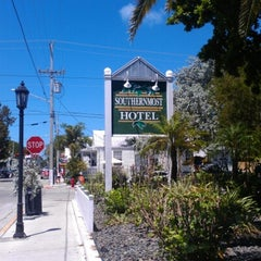 Photo taken at Southernmost Hotel in the USA by Terri S. on 9/7/2012