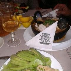 Photo taken at Restaurant Marisquería Marcoa by Natalia F. on 7/21/2012