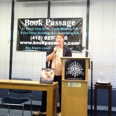 Photo taken at Book Passage Bookstore by Curt G. on 8/11/2012