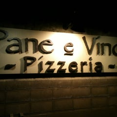 Photo taken at Pane e Víno Pizzeria by Sandra D. on 2/26/2012