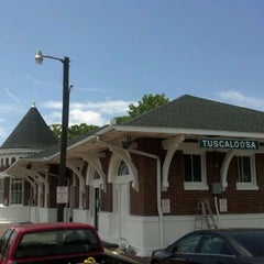 Photo taken at Amtrak Station - Tuscaloosa, AL (TCL) by Rick G. on 4/25/2012